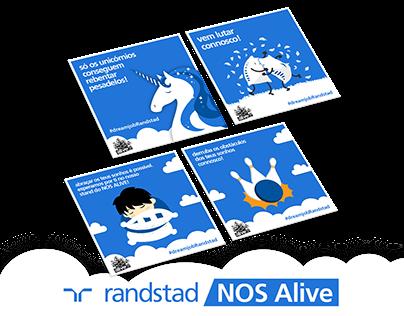 Randstad @ NOS ALIVE | Design
