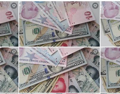 TURK LIRA YUAN PAPER MONEY