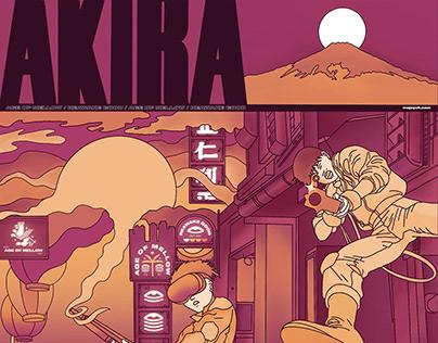 Akira 1988 Poster Tribute