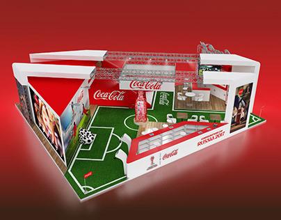 Exhibition stand concept Coca Cola