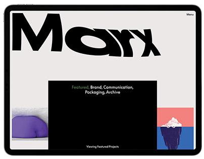 Marx Design — Portfolio
