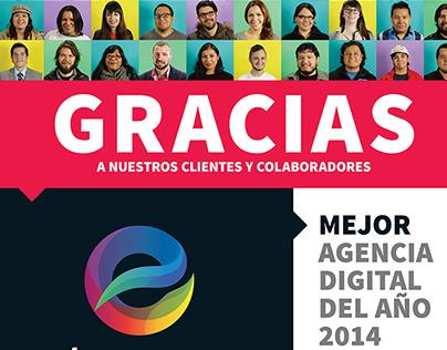 Element Magazine Ad. Best digital agency 2014