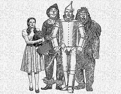 Hatching - Wizard of Oz Fan Art