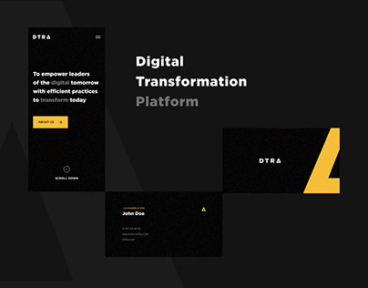 DRTA. Digital platform