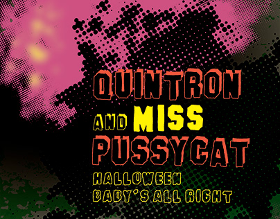 Quintron & Miss Pussycat Concert Poster Series