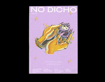 No Dicho Vol. 1