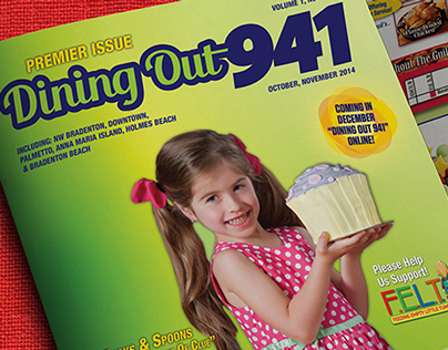 Dining Out 941 Brand Development & Print Publications