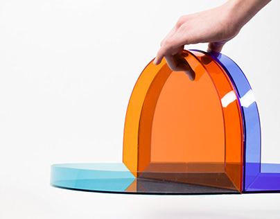 Ninety - Plexiglas tray