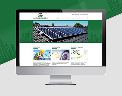 Website design - Ecostar