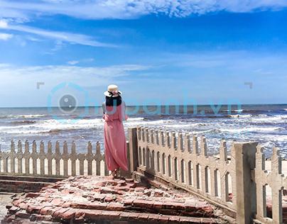Chụp ảnh bở biển