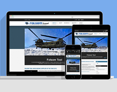 Folsom Tool Responsive Website