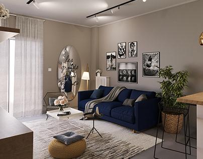 Renovation of studio apartment