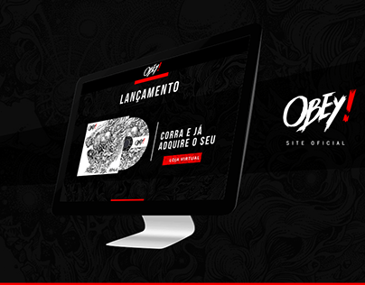 Obey - Web Design