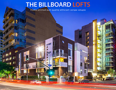 Billboard Lofts Book