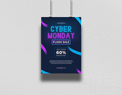 Cyber Monday Poster Design