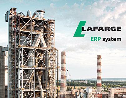 ERP system for Lafarge Cement Moldova — UX/UI Design
