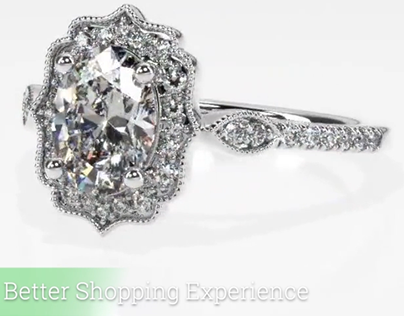 Jewelry Design Rendering