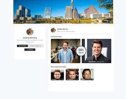 Website design for Dating site