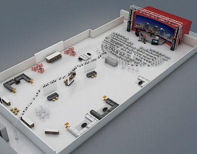 3d stage design