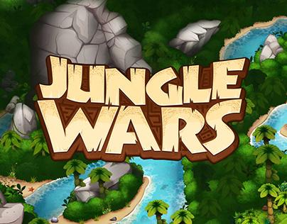 Jungle Wars Game assets