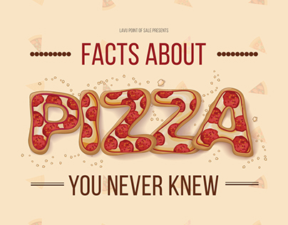 Infographic | Facts You Never Knew About Pizza