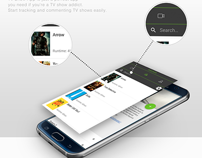 TV-SHOWS App for iOS, Android and Apple-TV