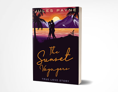 The sunset voyagers book cover design