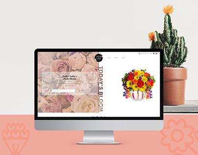 Florist Website UX UI Design