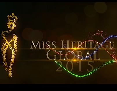 Miss Heritage Global 2015 First Intro