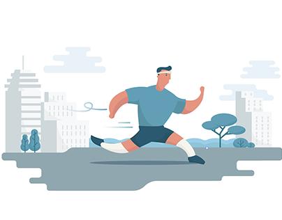 Health jogger