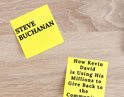 Steve Buchanan Omaha: How Kevin David is Using His