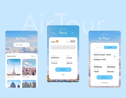 Air Tour, flight app