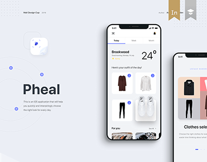 Pheal — outfit for every day, mobile application