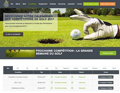 Arras Golf Club Website