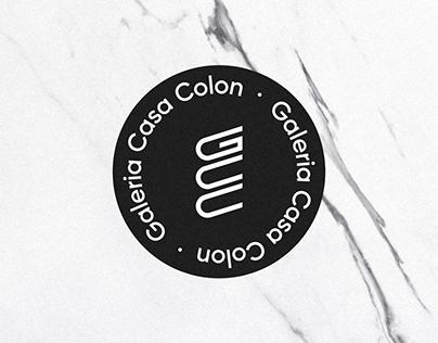 Galeria Casa Colon - Brand Identity