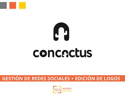 CONCACTUS - RRSS + EDICIÓN DE LOGOS