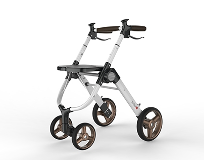 Sporty concept Rollator design