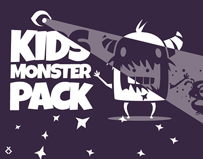 Kids monster pack