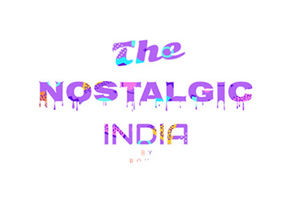The nostalgic Indian vector art's