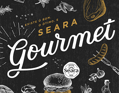 Academia Seara - Ilustration & Lettering