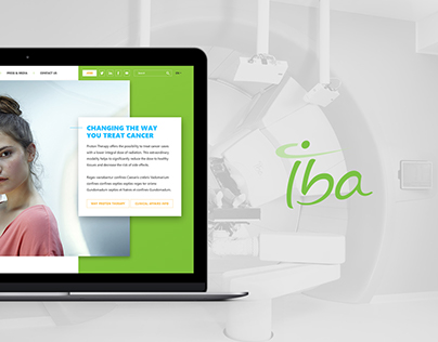 IBA - Website design proposal