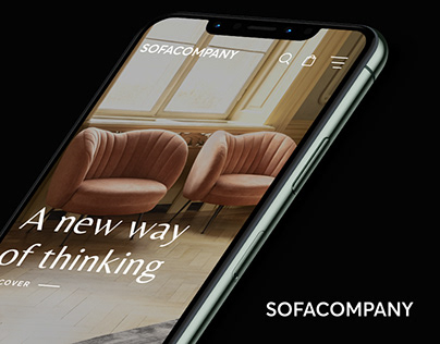 Sofacompany- Website redesign