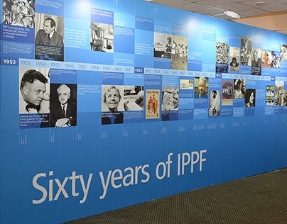 Giant infographic: 60 years of IPPF timeline