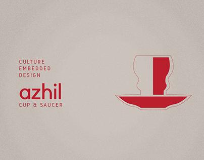 AZHIL - Cup & Saucer design