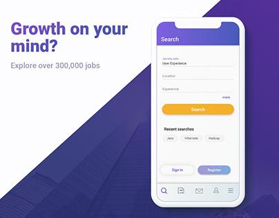 IOS App - Shine.com (Job App)