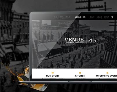 Venue 45 | Website Design
