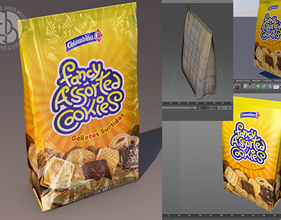 Diseño y Modelado 3D de Packaging