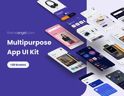 Multi-Purpose App UI Kit