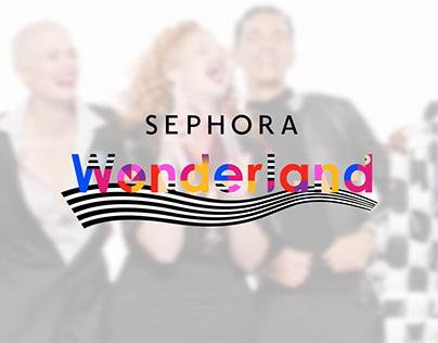 SEPHORA Wonderland | Motion graphic