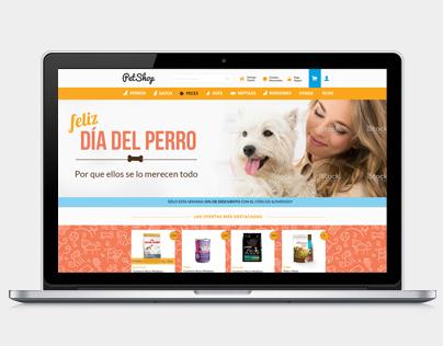 PetShop - Pet food ecommerce